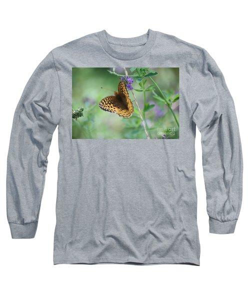 Close-up Butterfly Long Sleeve T-Shirt