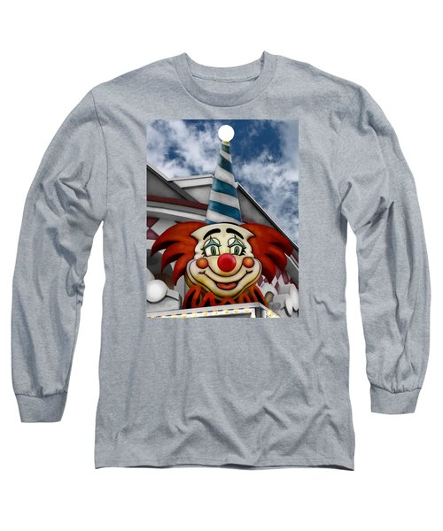 Clown Around Long Sleeve T-Shirt by Colleen Kammerer