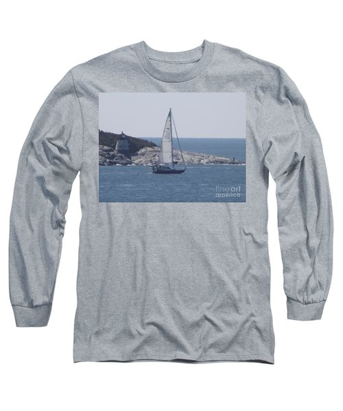 Coastal Newport Ri  Long Sleeve T-Shirt