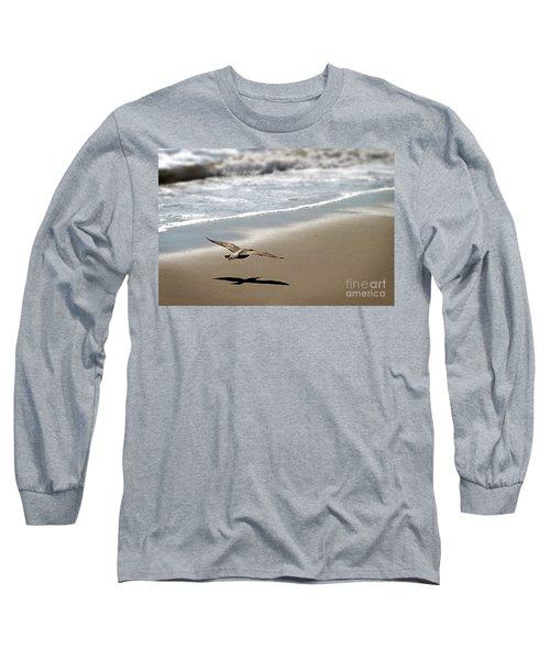 Coming In For Landing Long Sleeve T-Shirt by Henrik Lehnerer