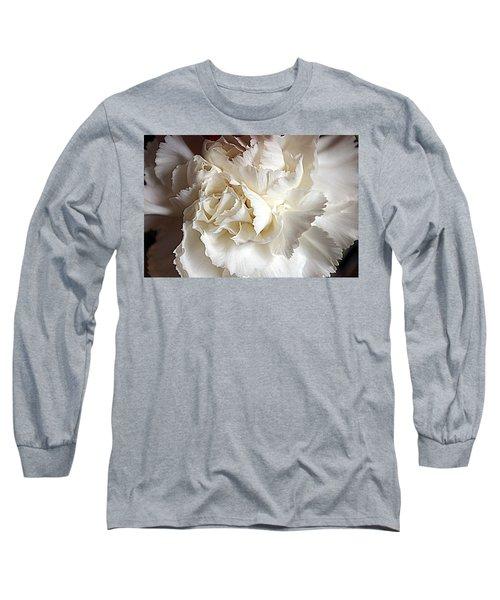 Long Sleeve T-Shirt featuring the photograph Crisp Carnation Photo by Deniece Platt