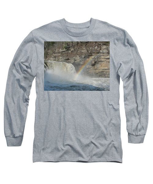Long Sleeve T-Shirt featuring the photograph Cumberland Falls by Tiffany Erdman