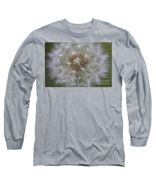 Dandelion Clock. Long Sleeve T-Shirt