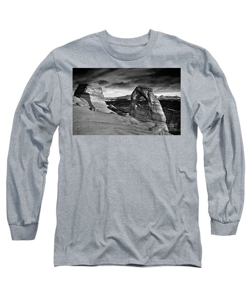 Delicate Arch Bw Long Sleeve T-Shirt