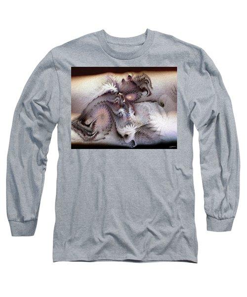 Derailing Destiny Long Sleeve T-Shirt by Casey Kotas