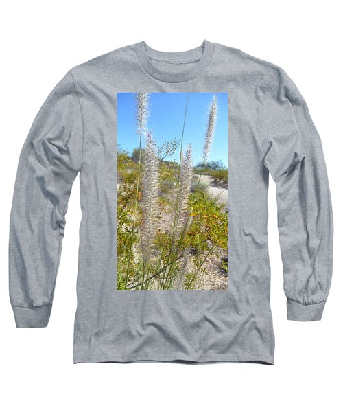 Long Sleeve T-Shirt featuring the photograph Desert Trail by Kume Bryant