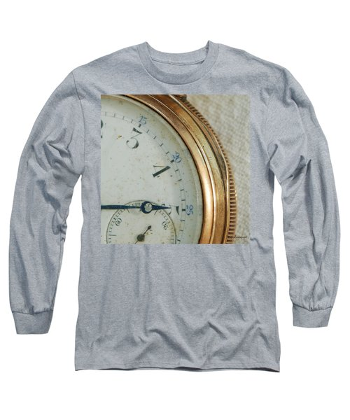 Long Sleeve T-Shirt featuring the photograph Details Of Time 2 by Kay Lovingood