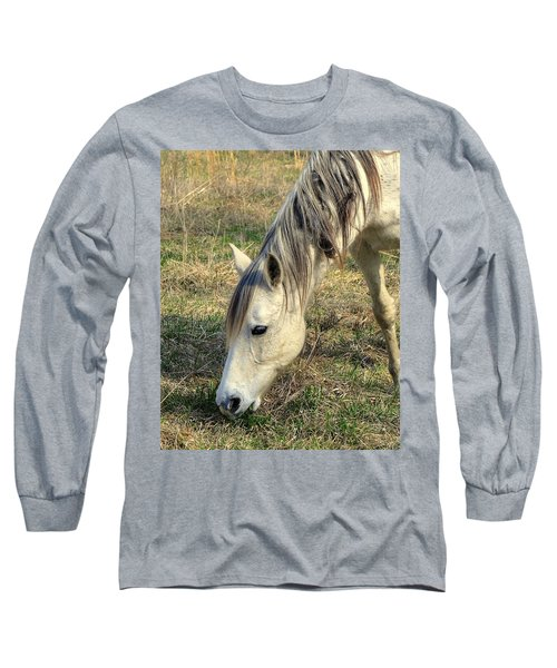Long Sleeve T-Shirt featuring the photograph Dinner Time by Marty Koch