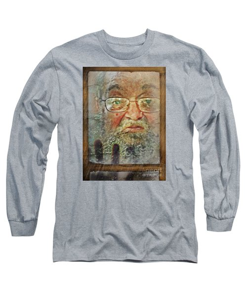 Long Sleeve T-Shirt featuring the digital art Don't You See Me?  I'm Here. .  by Rhonda Strickland