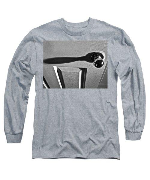 Long Sleeve T-Shirt featuring the photograph Doorknob by Bill Owen