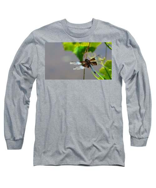 Dragonfly Long Sleeve T-Shirt by Cindy Manero