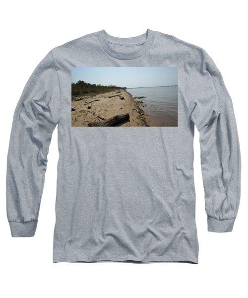 Driftwood Long Sleeve T-Shirt by Charles Kraus