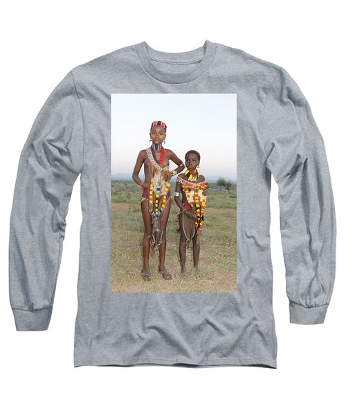 Ethiopia-south Sisters Long Sleeve T-Shirt