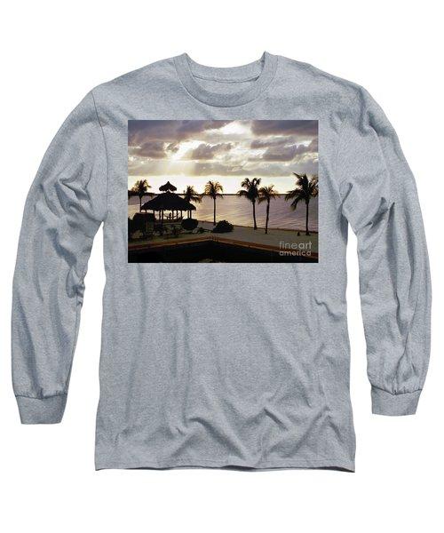 Evening In The Keys - Key Largo Long Sleeve T-Shirt