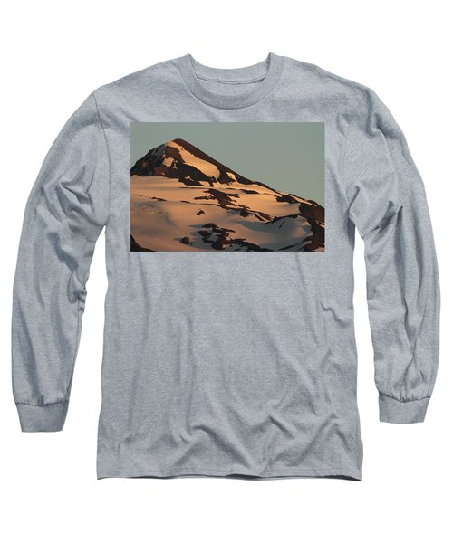 Evening Into Night Long Sleeve T-Shirt by Laddie Halupa