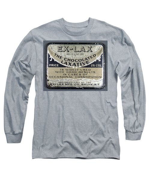 Ex-lax Container Long Sleeve T-Shirt