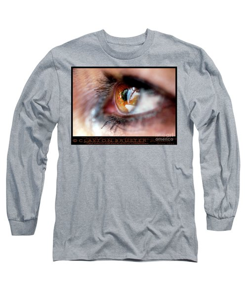 Eye Don't Know Long Sleeve T-Shirt