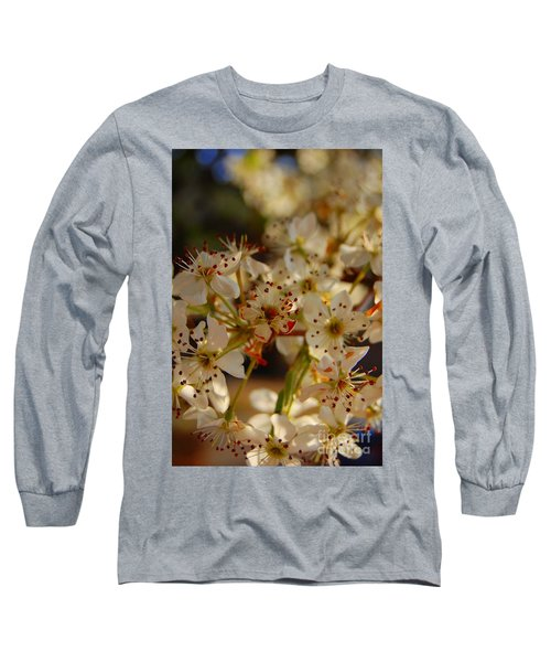 Faded Blossom Long Sleeve T-Shirt