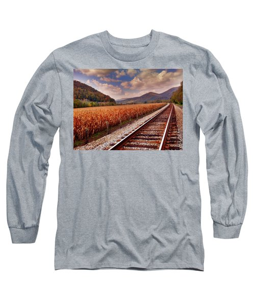 Fall Days Long Sleeve T-Shirt by Janice Spivey