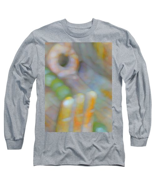 Long Sleeve T-Shirt featuring the digital art Fearlessness by Richard Laeton