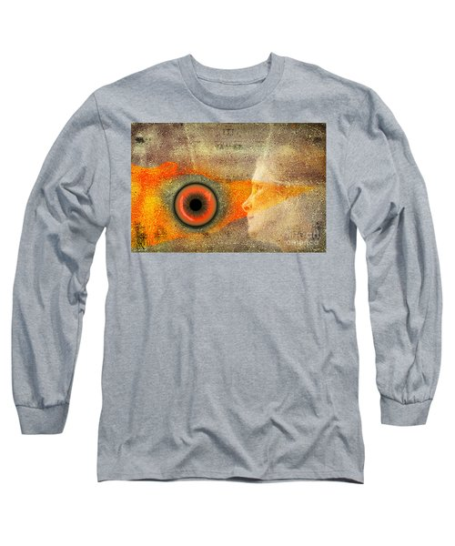 Fire Look Long Sleeve T-Shirt by Rosa Cobos