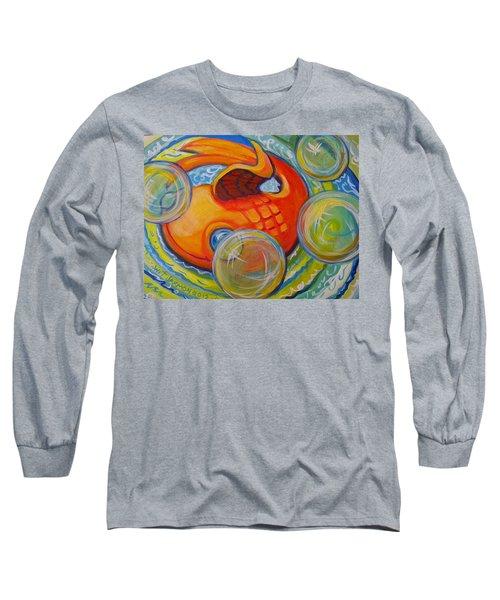 Fish Fun Long Sleeve T-Shirt by Jeanette Jarmon