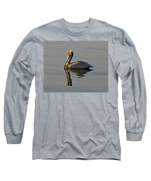 Florida Pelican Long Sleeve T-Shirt