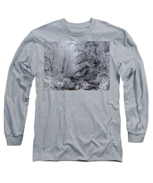 Long Sleeve T-Shirt featuring the photograph Forest Lace by Christian Mattison