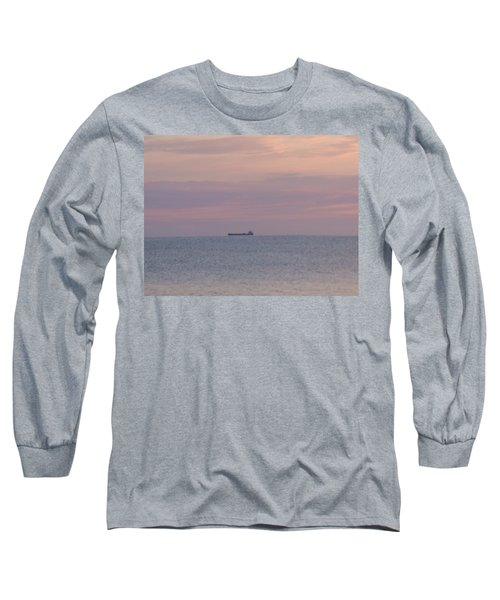 Long Sleeve T-Shirt featuring the photograph Freighter by Bonfire Photography