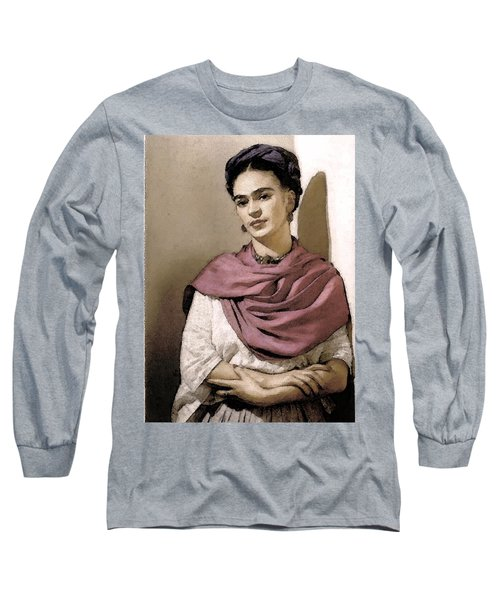 Frida Interpreted 2 Long Sleeve T-Shirt