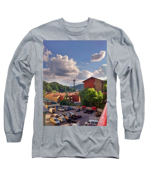 Long Sleeve T-Shirt featuring the photograph Gatlinburg Tn by Janice Spivey