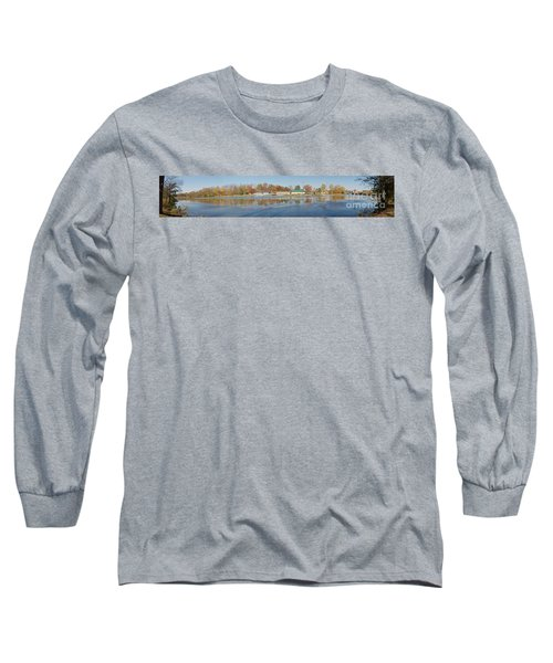 Long Sleeve T-Shirt featuring the photograph Genesee River Panorama by William Norton
