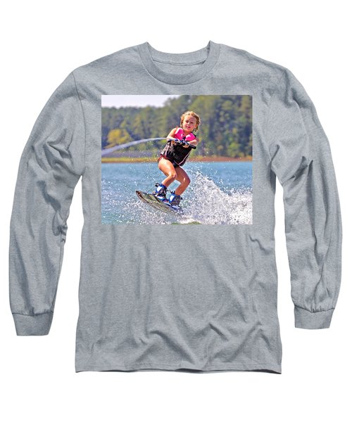 Girl Trick Skiing Long Sleeve T-Shirt