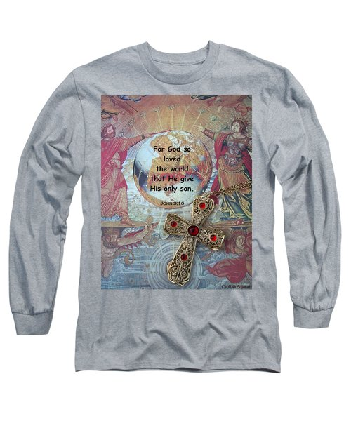 Long Sleeve T-Shirt featuring the photograph God's Gift by Cynthia Amaral