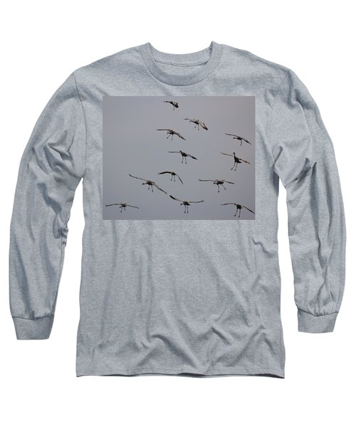 Long Sleeve T-Shirt featuring the photograph Good Luck Finding A Parking Spot by Don Schwartz