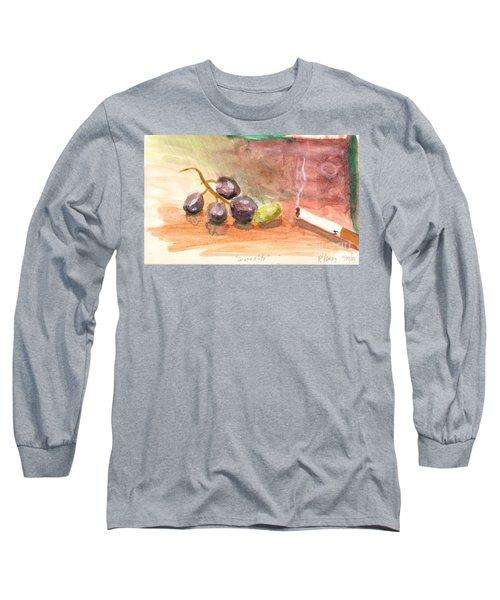Grapeality Long Sleeve T-Shirt by Rod Ismay