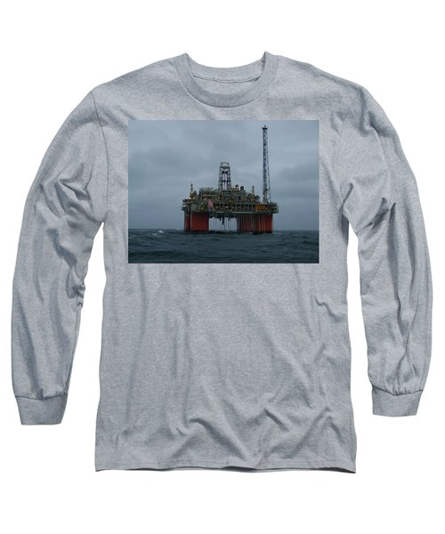 Grey Day At Snorre Long Sleeve T-Shirt