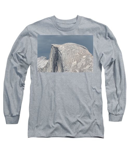 Half Dome From Glacier Point At Yosemite Np Long Sleeve T-Shirt