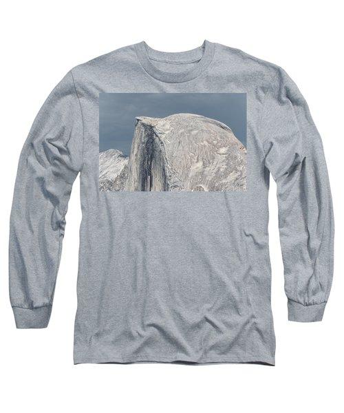 Half Dome From Glacier Point At Yosemite Np Long Sleeve T-Shirt