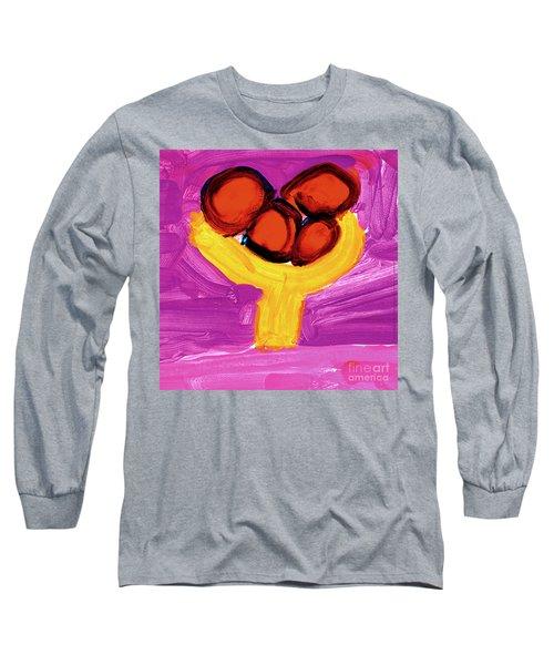 Happy Fruit Long Sleeve T-Shirt