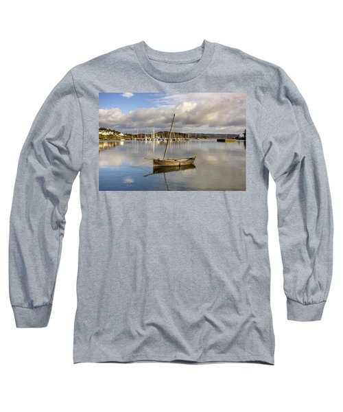 Harbour In Tarbert Scotland, Uk Long Sleeve T-Shirt