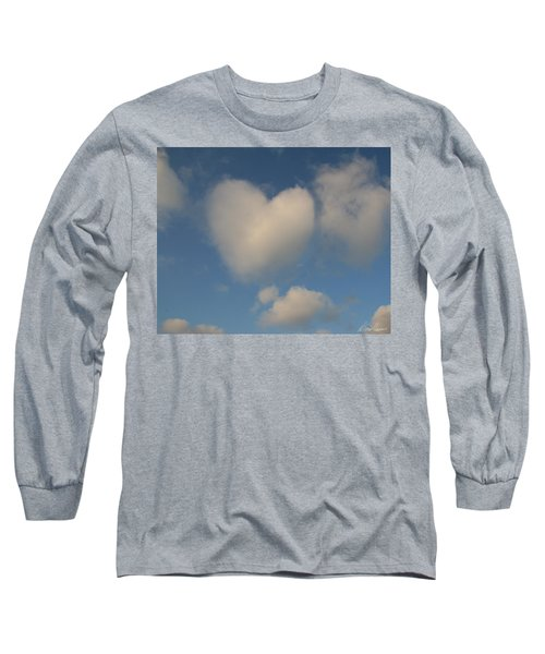 Heart In The Clouds Long Sleeve T-Shirt