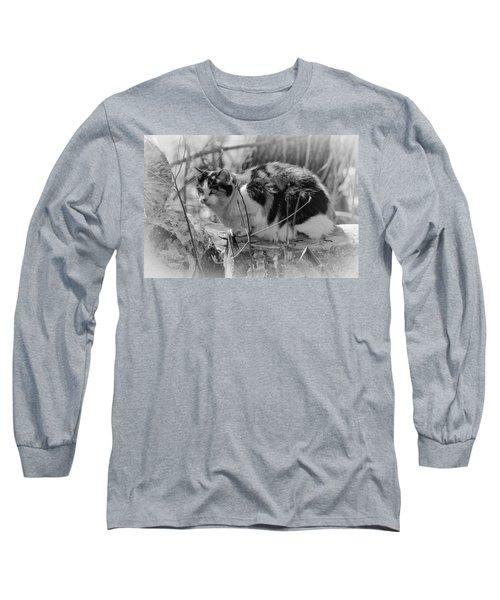 Hiding Long Sleeve T-Shirt by Eunice Gibb