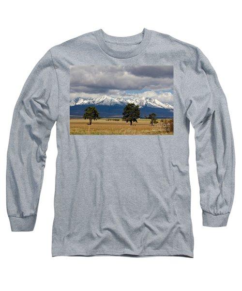 Long Sleeve T-Shirt featuring the photograph High Tatras - Vysoke Tatry by Les Palenik
