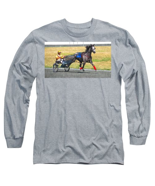 Long Sleeve T-Shirt featuring the photograph Hooray For The Gray by Alice Gipson