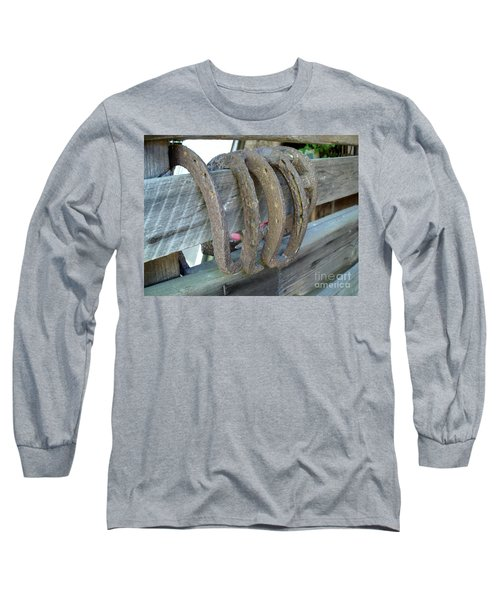 Horse Shoes Long Sleeve T-Shirt