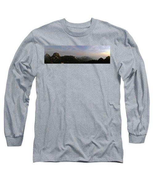 Huangshan Panorama 5 Long Sleeve T-Shirt