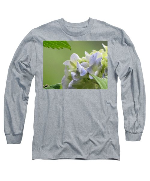 Long Sleeve T-Shirt featuring the photograph Hydrangea Blossom by Katie Wing Vigil