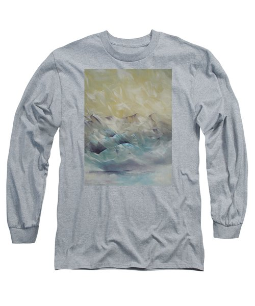 Long Sleeve T-Shirt featuring the painting I Like It When It's Cold  by Dan Whittemore