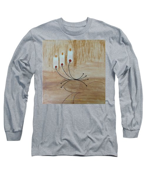 Long Sleeve T-Shirt featuring the painting Illumination by Sonali Gangane